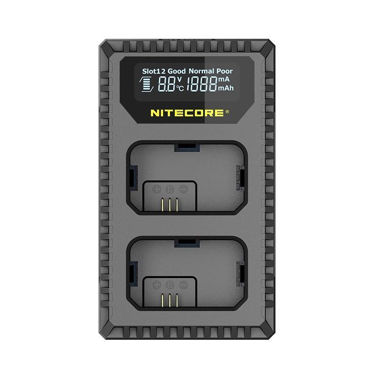 Nitecore NC-USN1 duální nabíječka pro Sony NP-FW50
