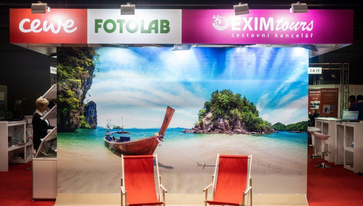 Holiday World, Cestování a CEWE FOTOLAB - Exim Tours