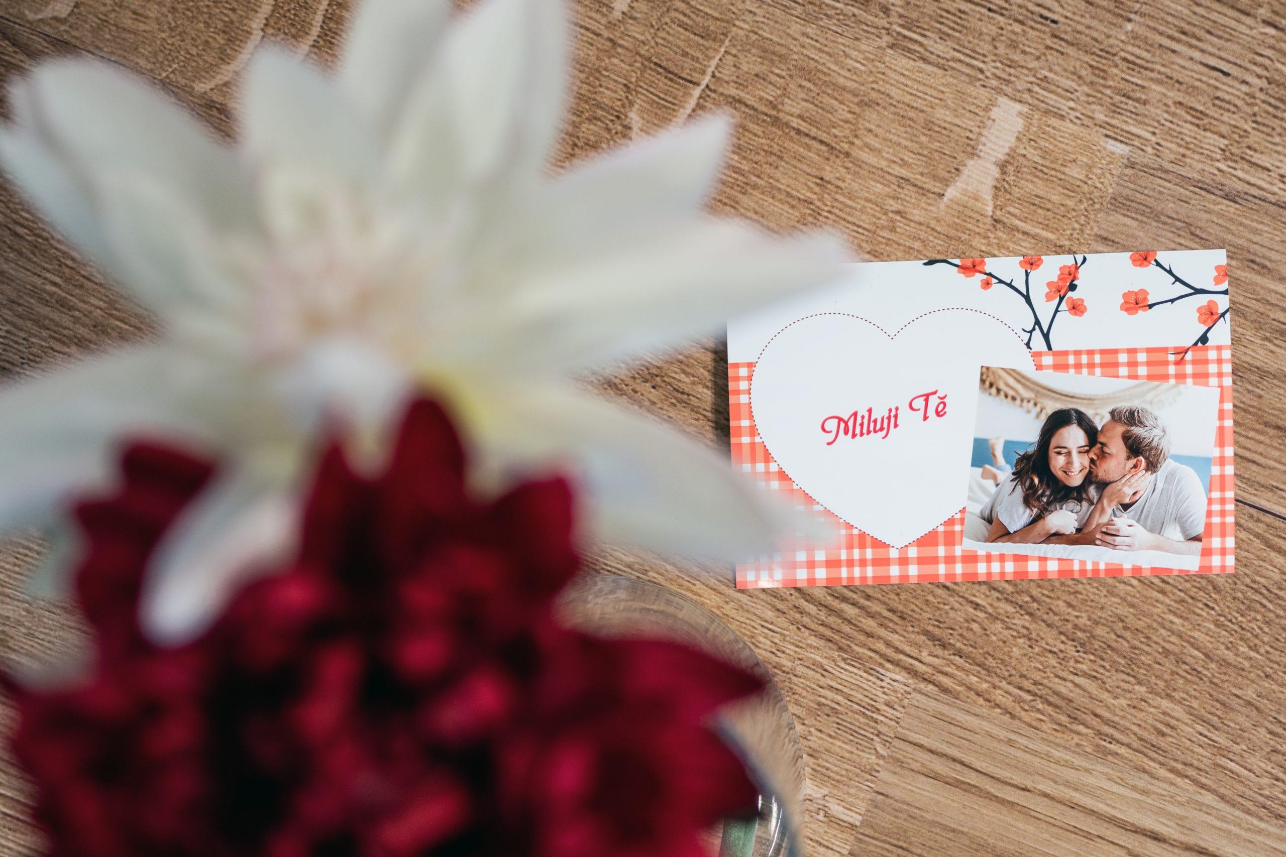 Valentýnské přání s vlastní fotkou od CEWE