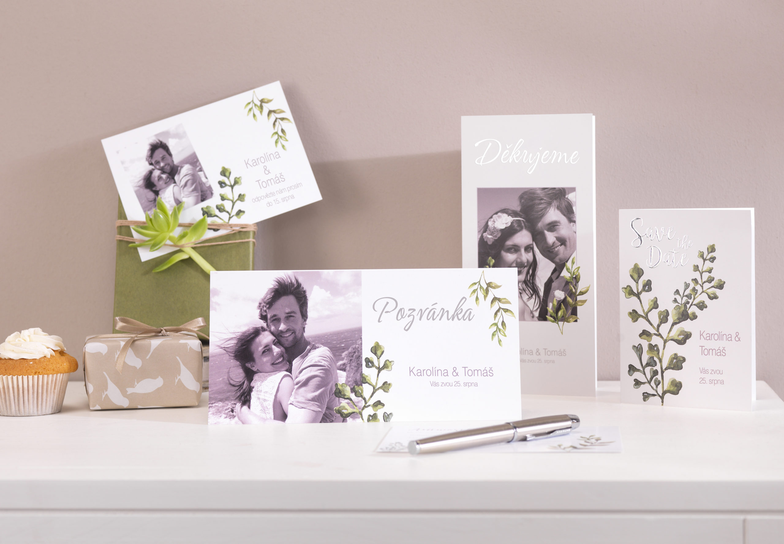 svatba, svatební, oznámení, pozvánka, přání, CEWE PŘÁNÍ