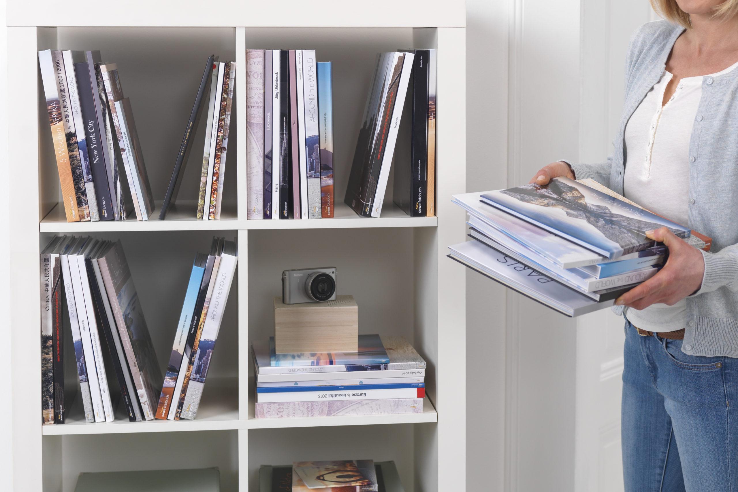 cewe fotokniha, fotokniha, knihovna