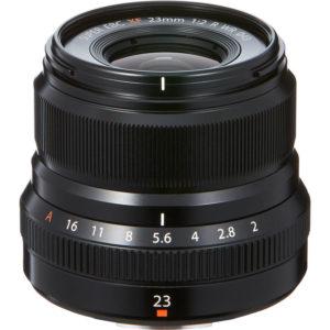 Fujifilm XF 23 mm f/2 R WR
