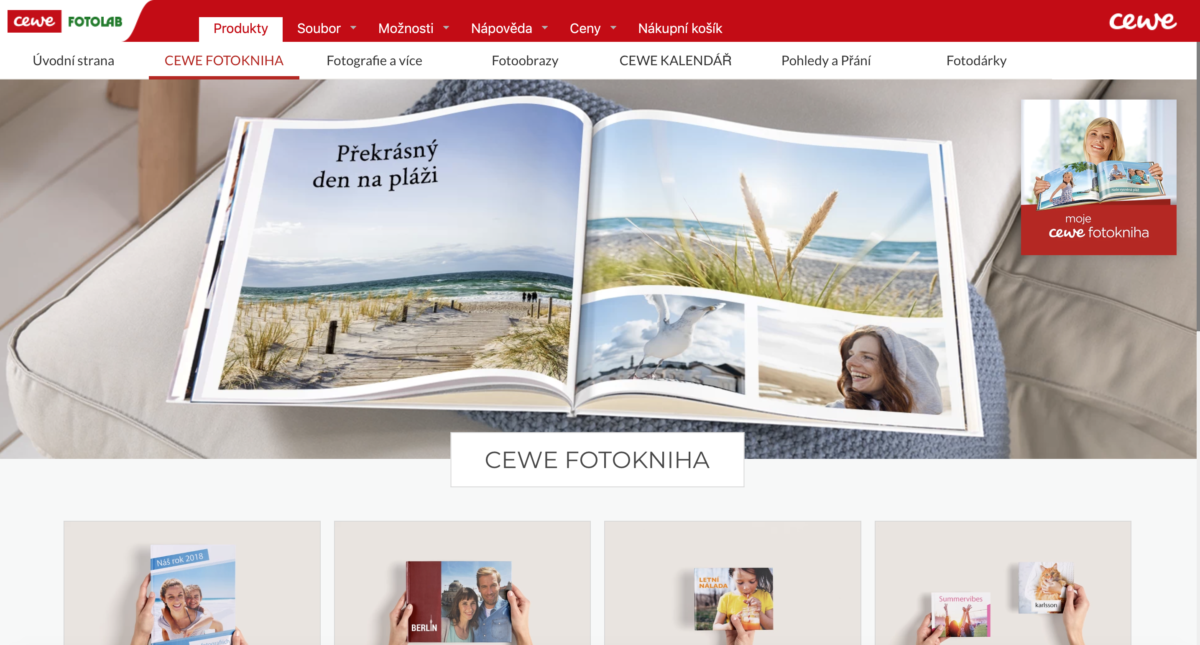 Nová verze programu CEWE fotosvět zdarma ke stažení.