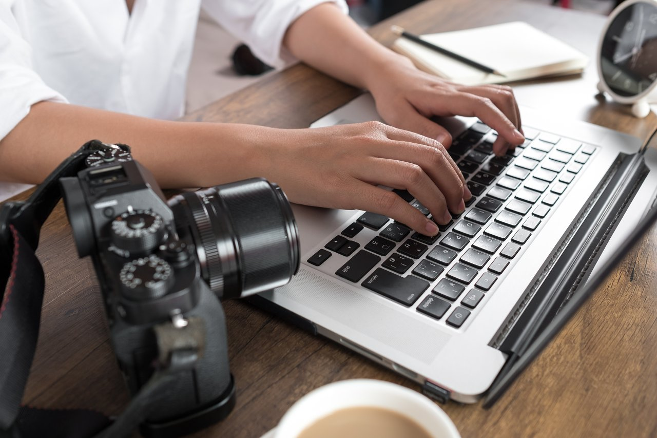Editace fotografií