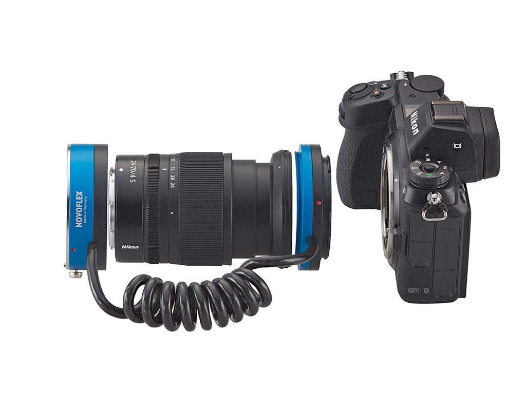 Reverzní adaptér Novoflex pro Nikon Z