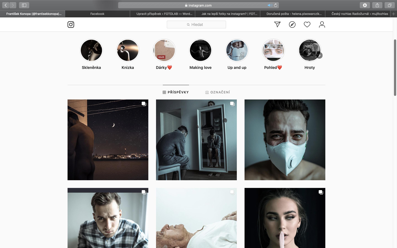 instagram, feed, františek konopa