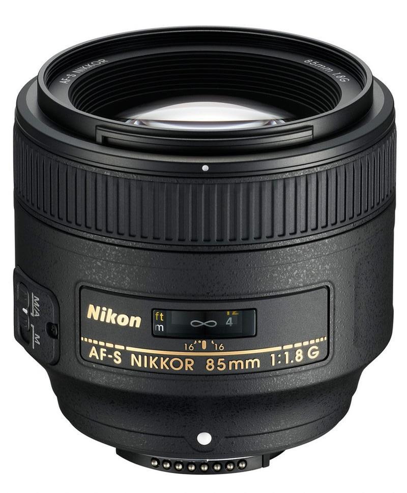 Nikon 85mm f/1,8