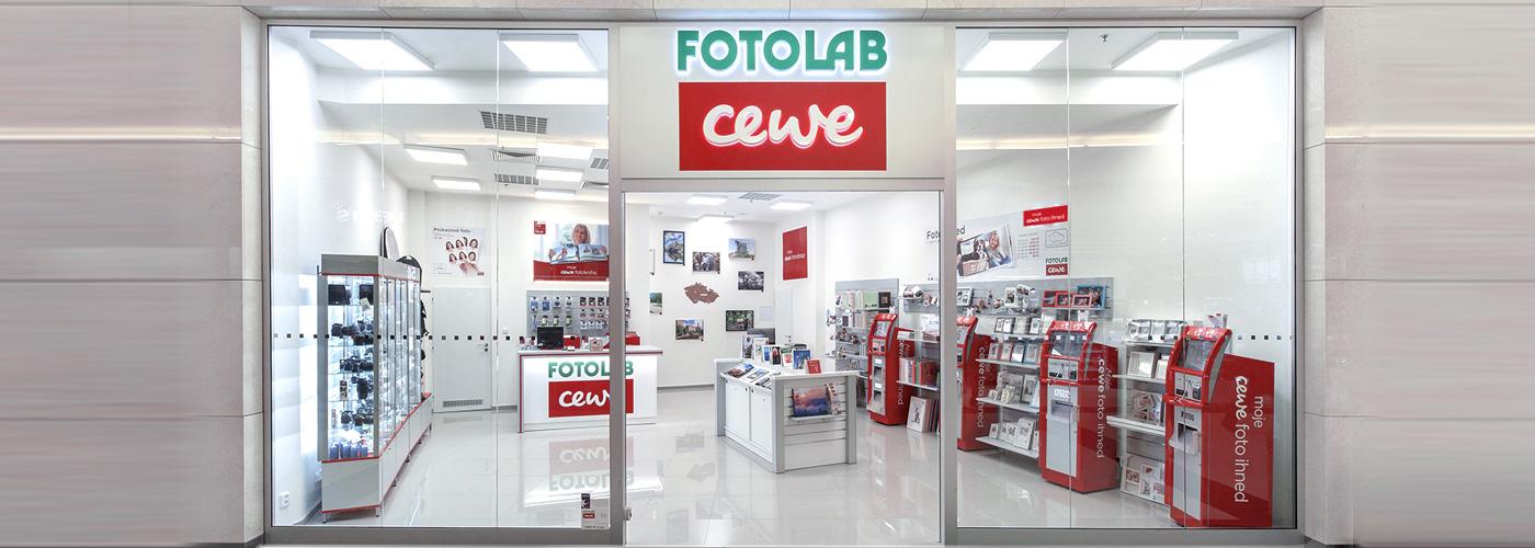prodejna CEWE FOTOLAB