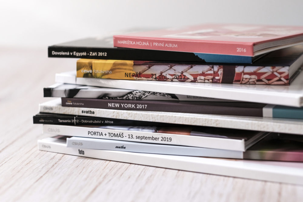 fotokniha, formáty