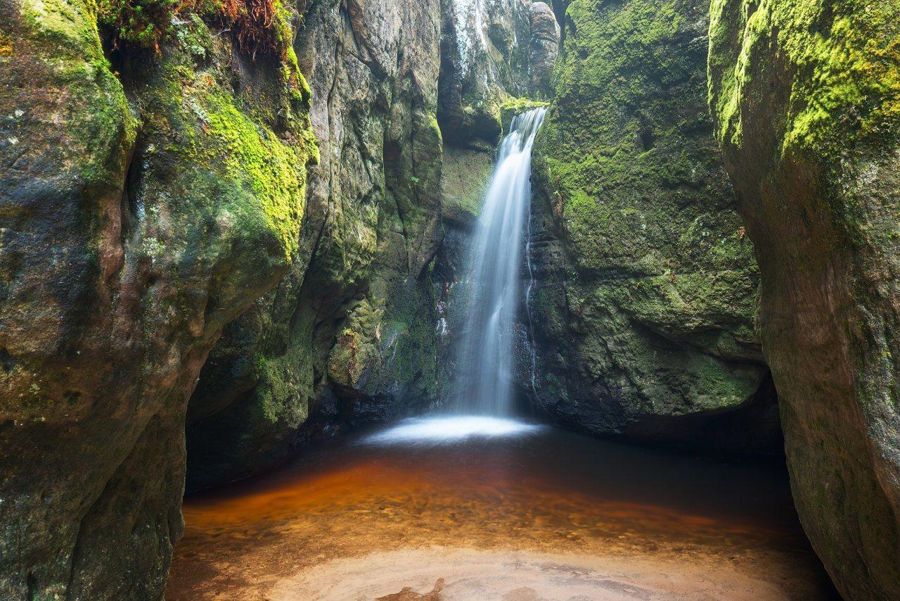 Malý vodopád – Adršpach, autor: Michal Balada