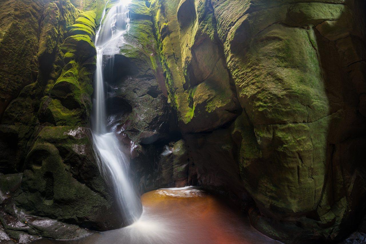 Velký vodopád – Adršpach, autor: Michal Balada