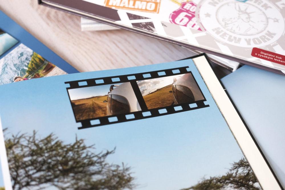 video cewe fotokniha, video v knize