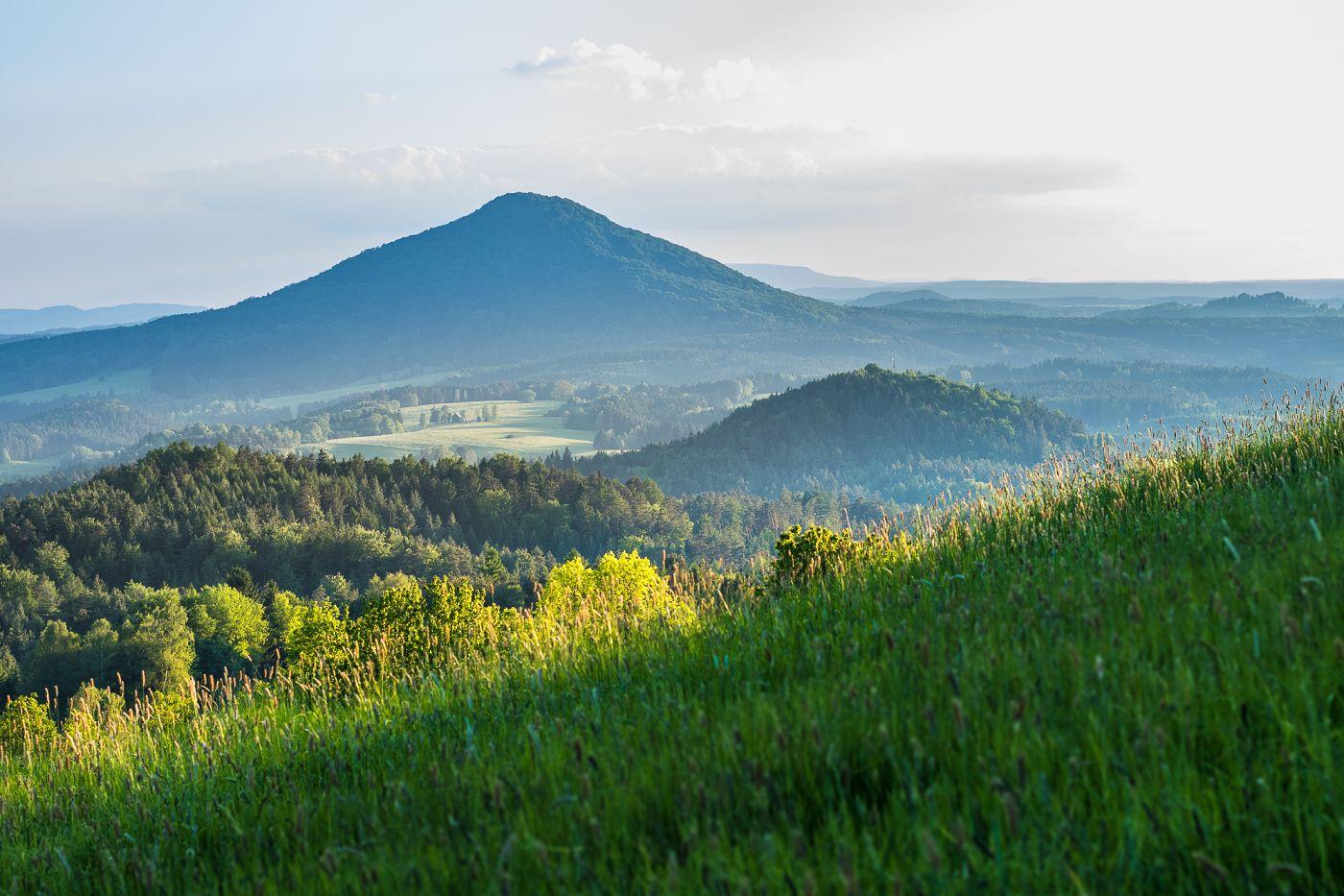 Růžovský vrch, České Švýcarsko, Petr Jan Juračka