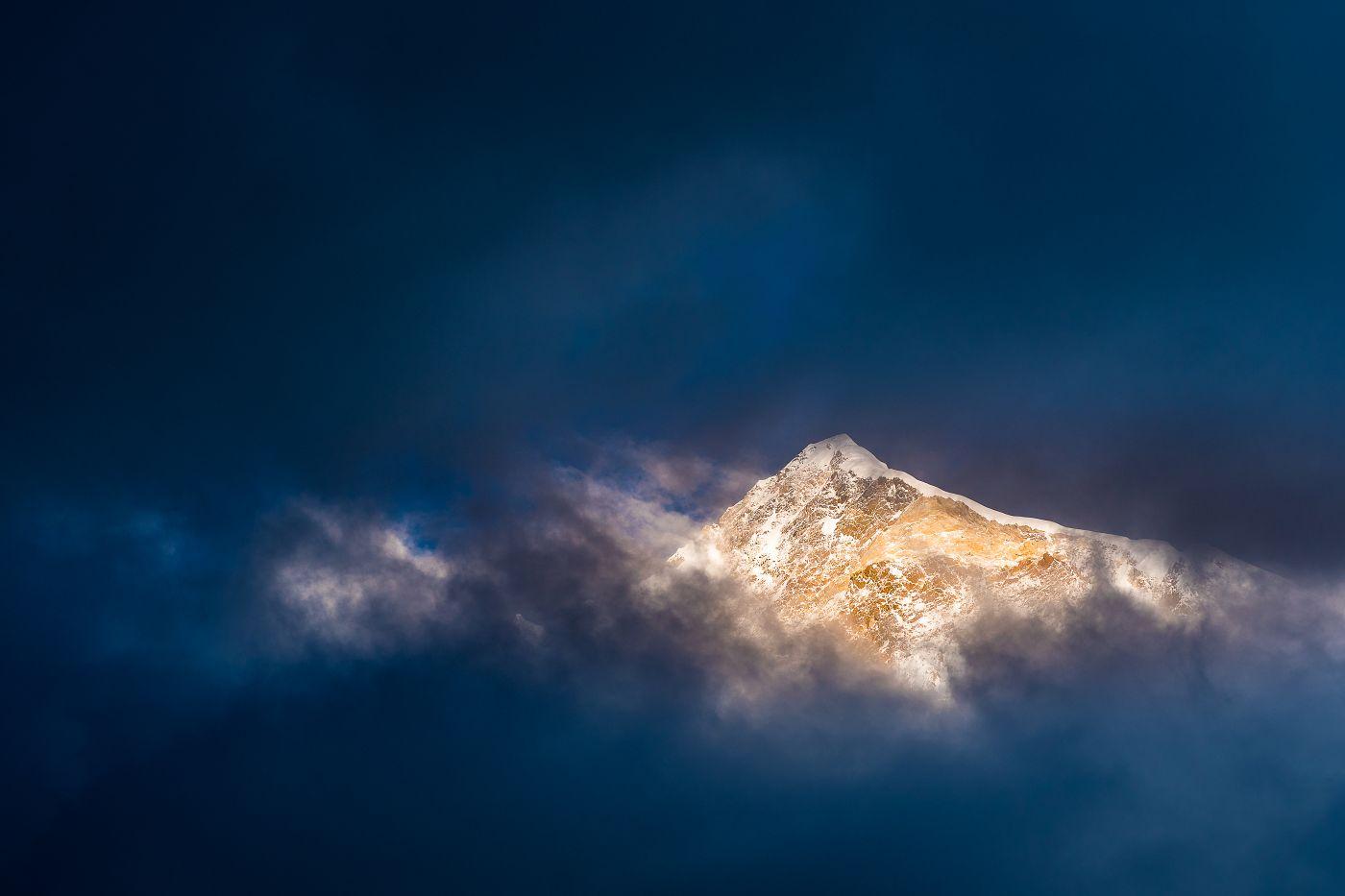 Nakpo Kangri (6965m), Čína,