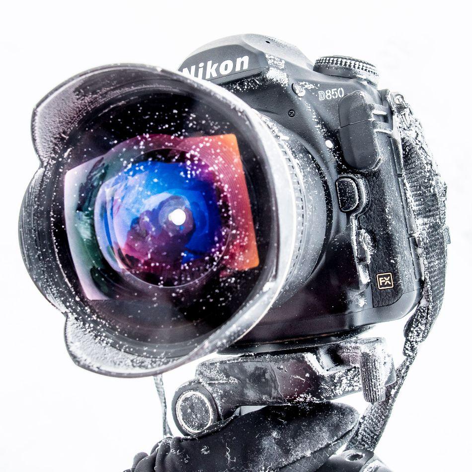 fotografická výbava v zimních podmínkách