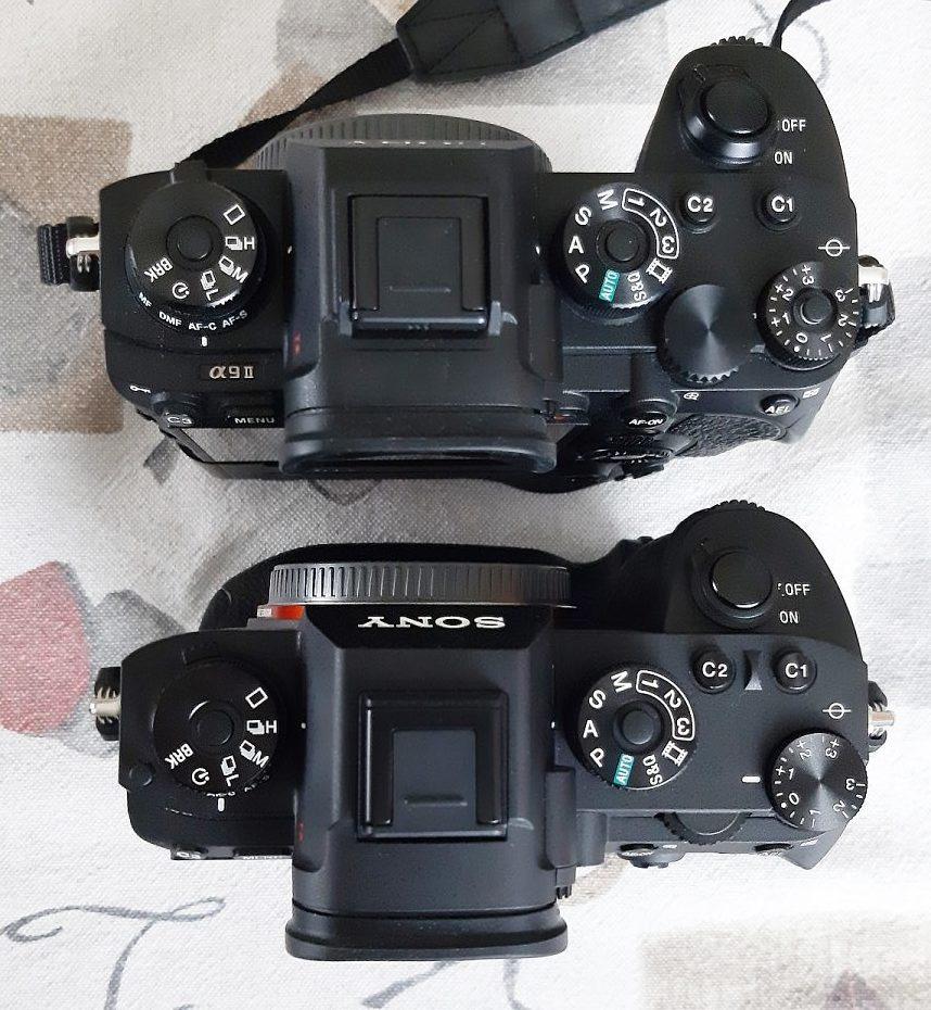 Srovnání Sony A9 vs A9II