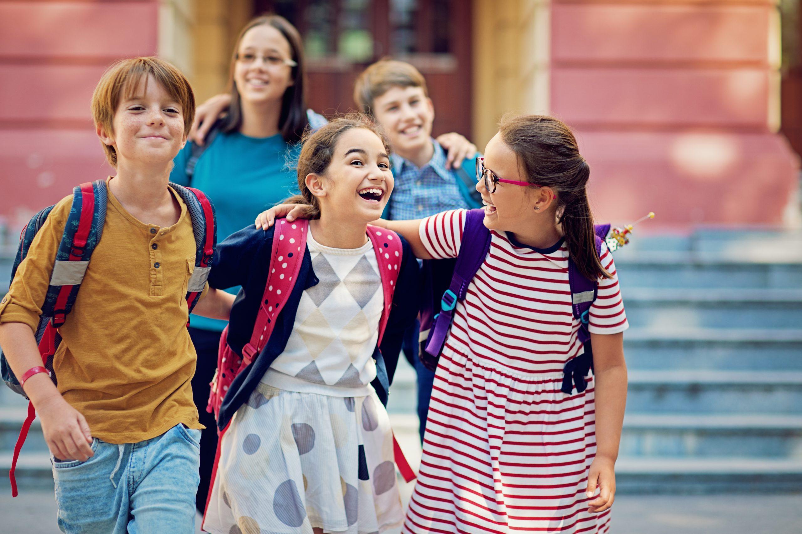 škola, školní den, děti