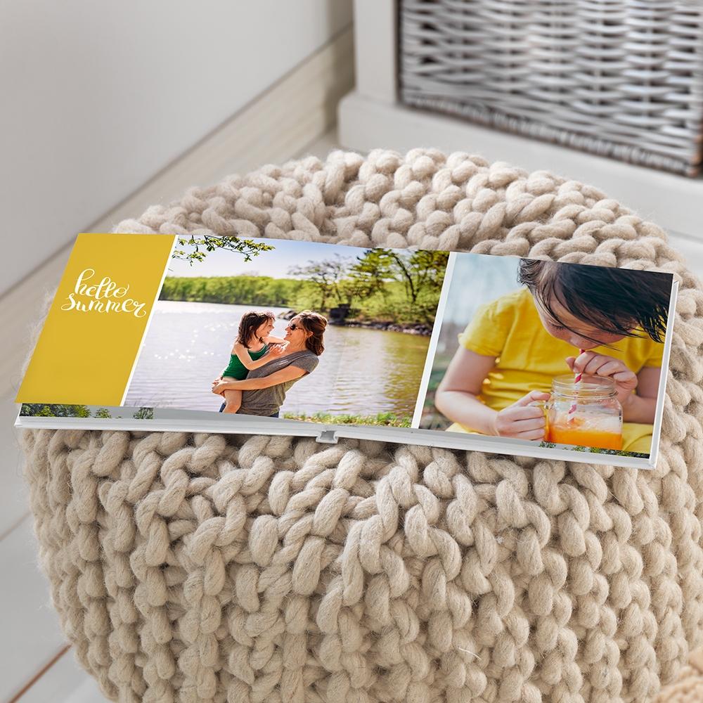 fotokniha, kompakt panorama, léto, dovolená cewe fotokniha