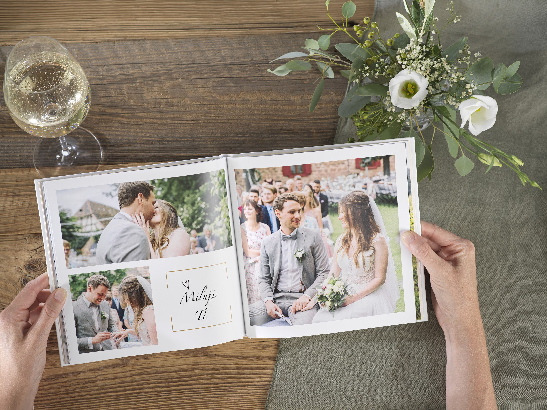 svatební, fotokniha
