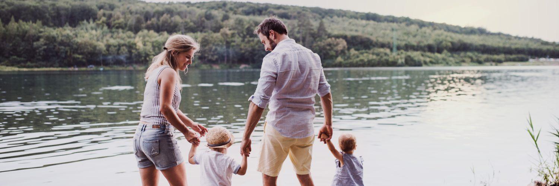 rodina, léto, dovolená