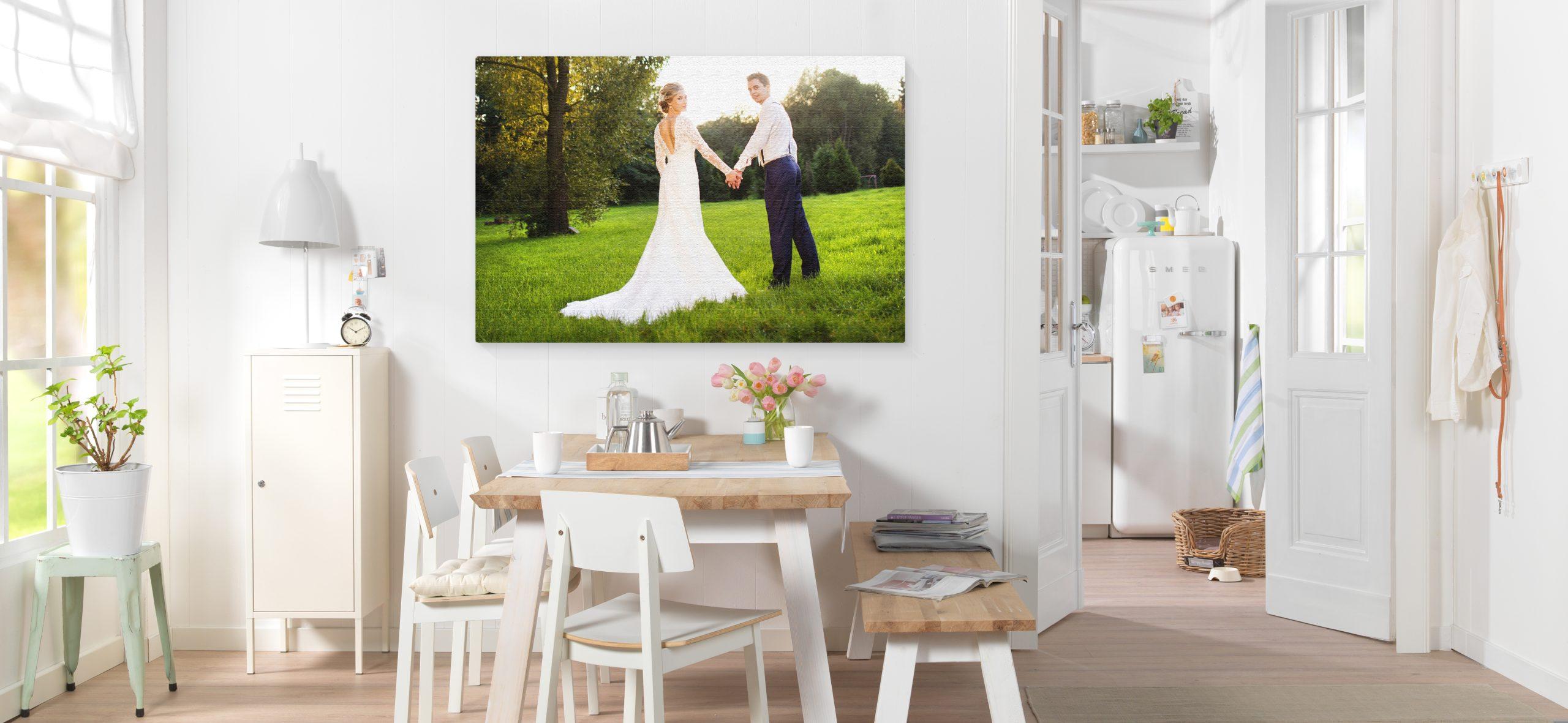 svatební, fotoobraz, svatba