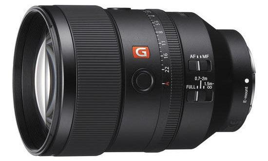 Sony 135mm f/1,8