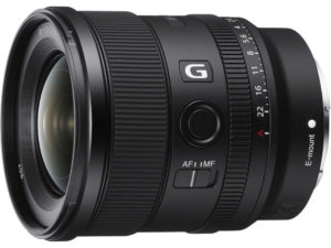 Sony 20mm f/1,8
