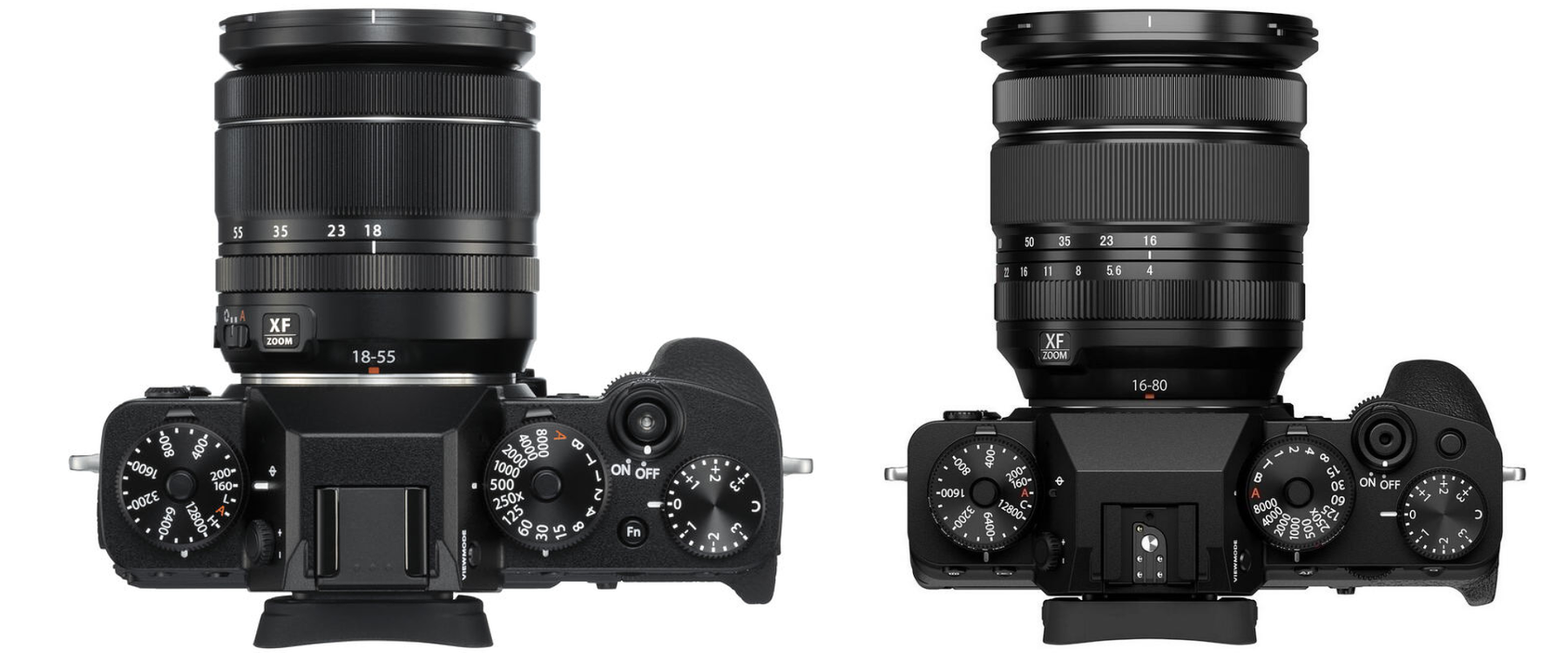 Fujifilm X-T3 a Fujifilm X-T4 srovnání