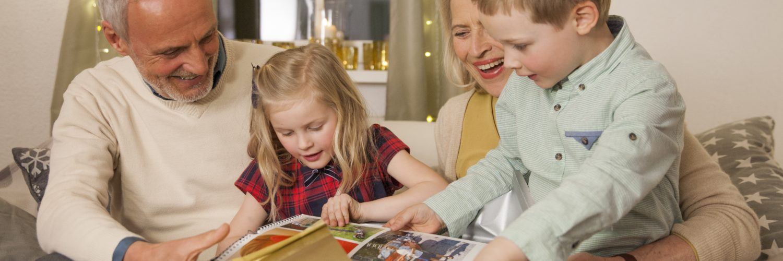 prarodiče, fotokniha, rodina