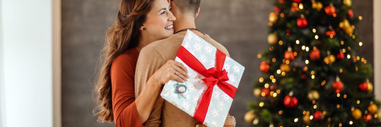 žena, vánoce, fotokniha, dárek