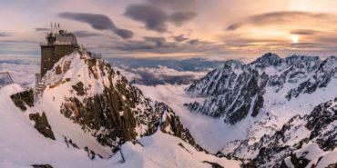 Panorama Vysoké Tatry - Lomnický štít