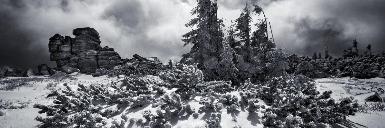 Fotografování zimní krajiny