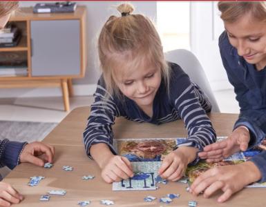 puzzle, děti
