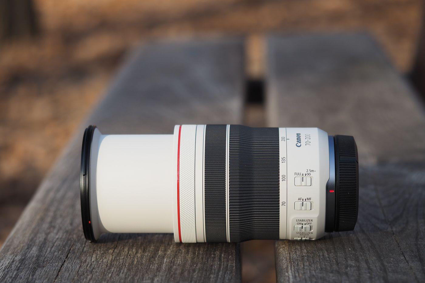 Recenze Canon RF 70-200mm f/4