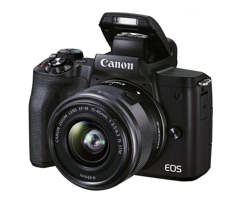 Vestavěný blesk u Canonu EOS M50 II
