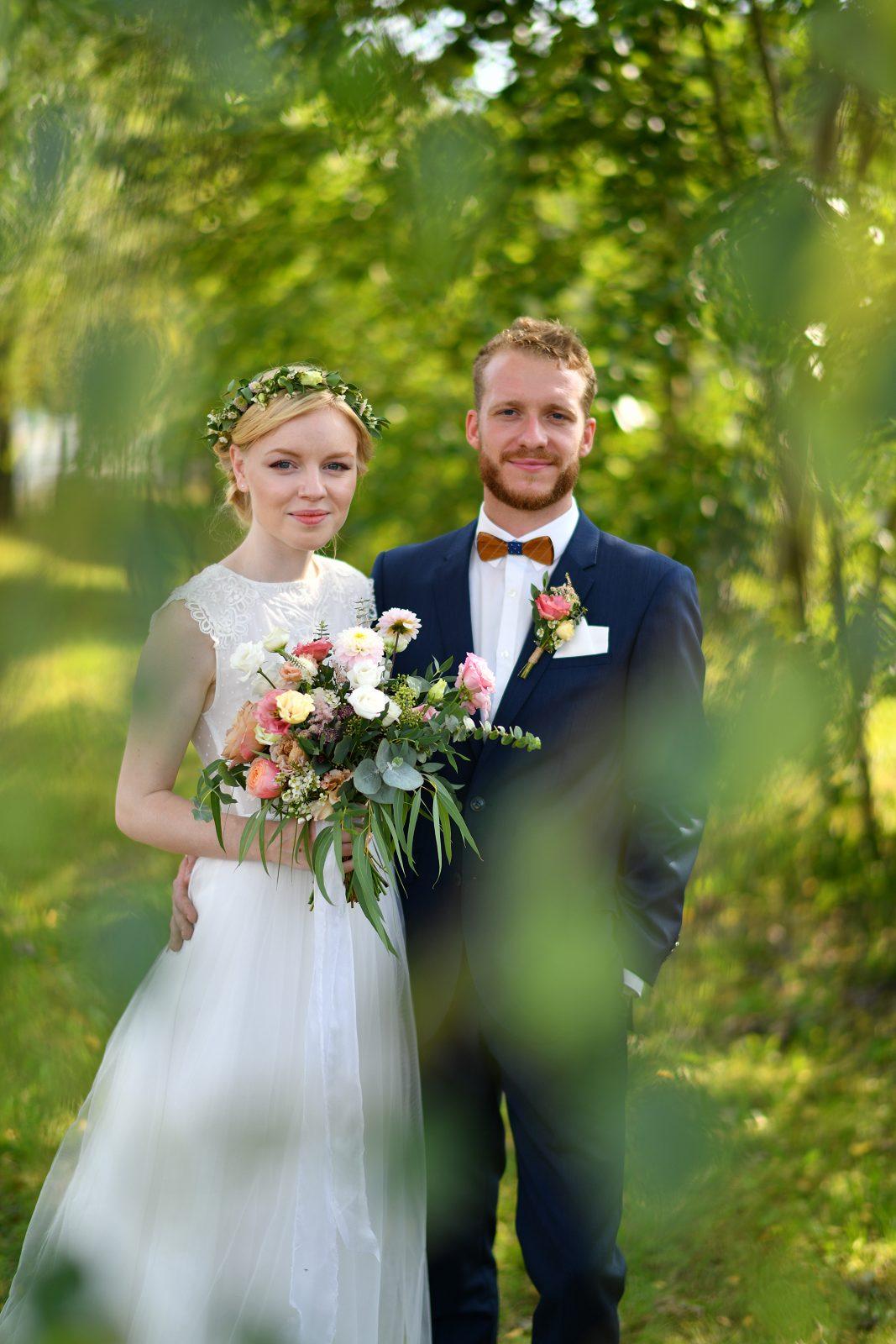 Svatební fotografie – využijte přirozeného prostředí