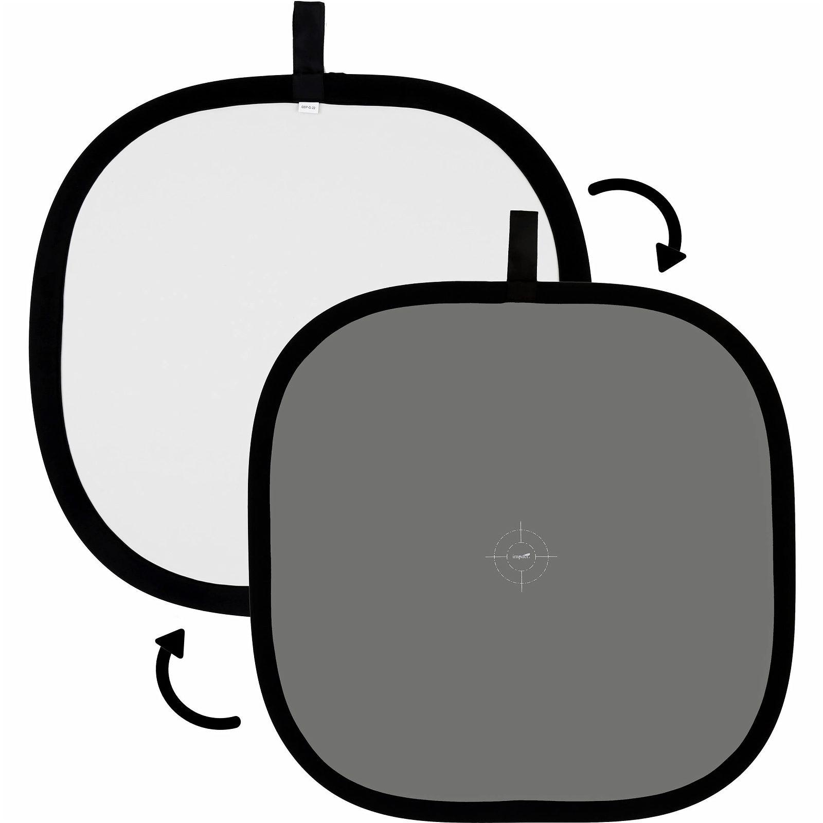 Oboustranná tabulka s bílým a šedým povrchem