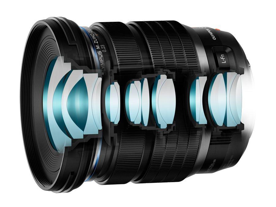 Olympus M.Zuiko 8–25mm f/4 PRO
