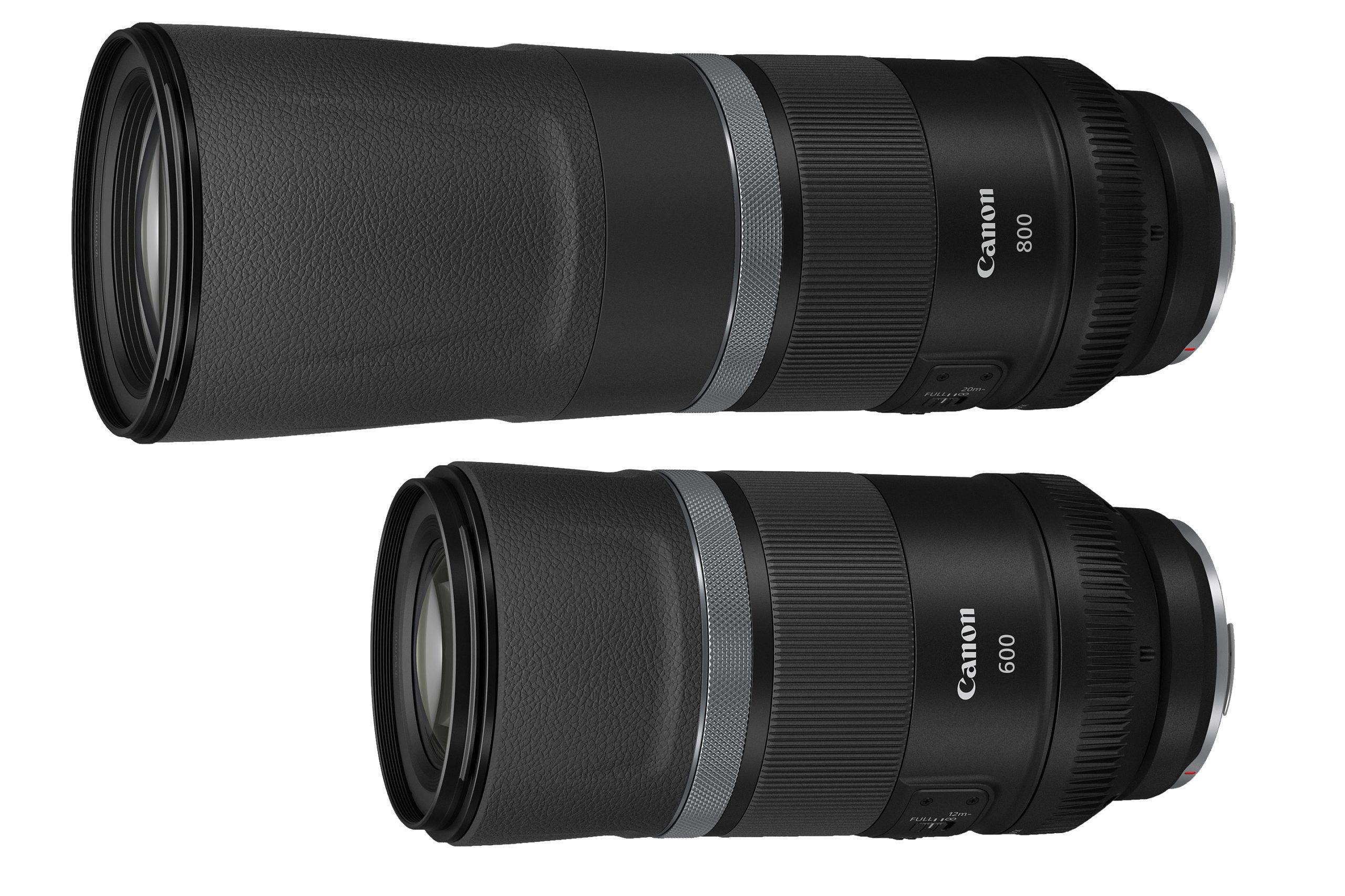 Srovnání Canon RF 800/11 IS STM a RF 600/11 IS STM