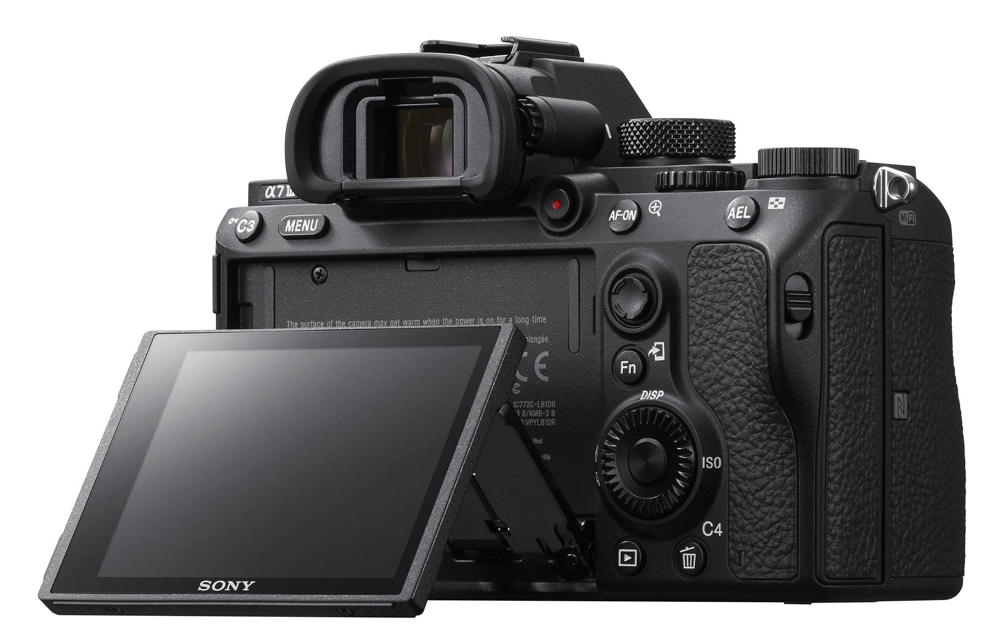 Výklopný displej Sony A7III