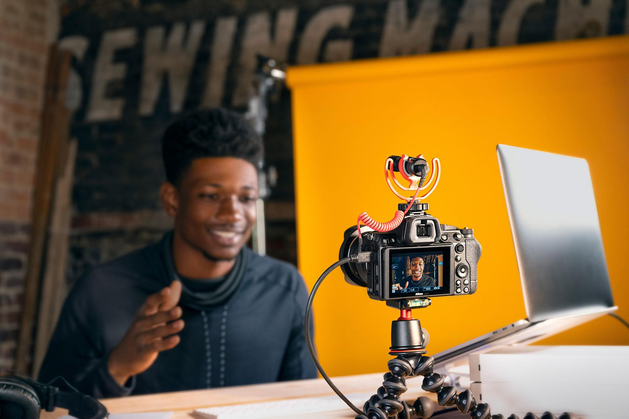 fotoaparát jako webkamera