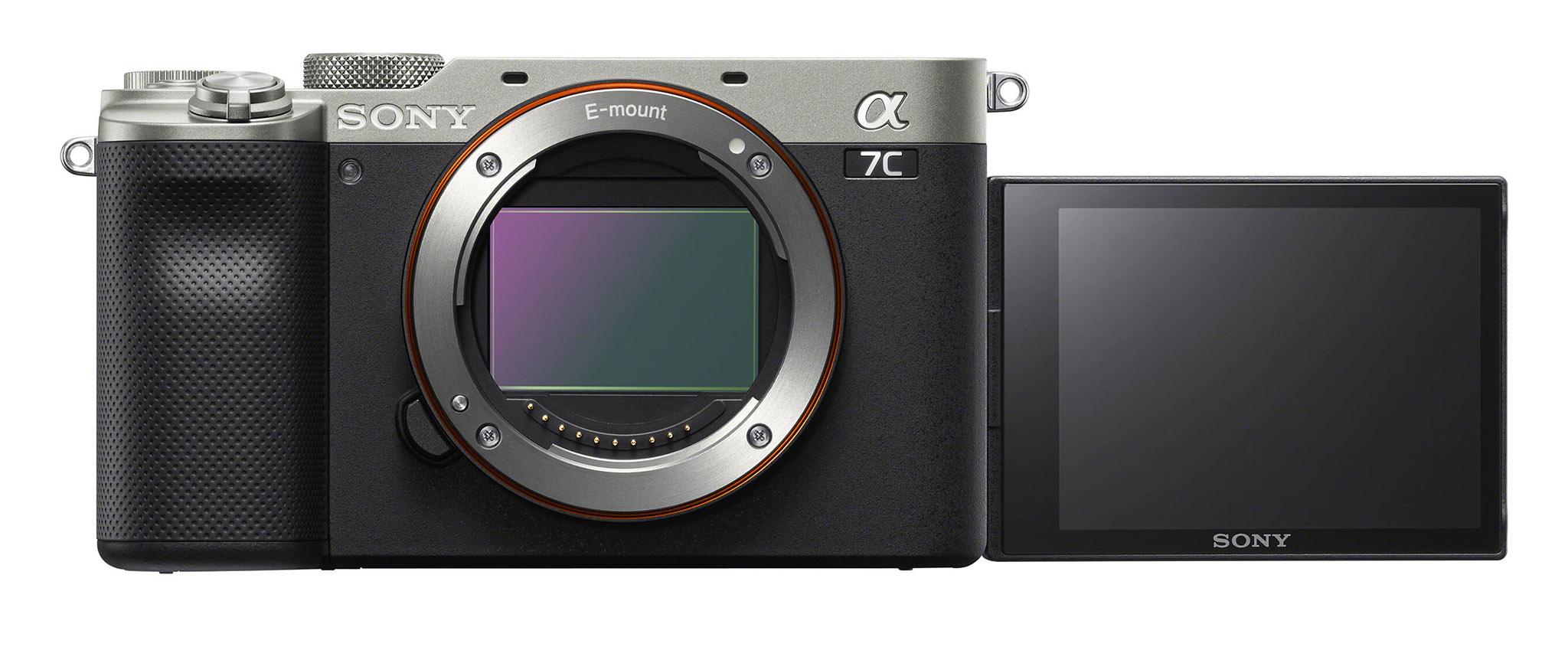 Otočný displej Sony A7c