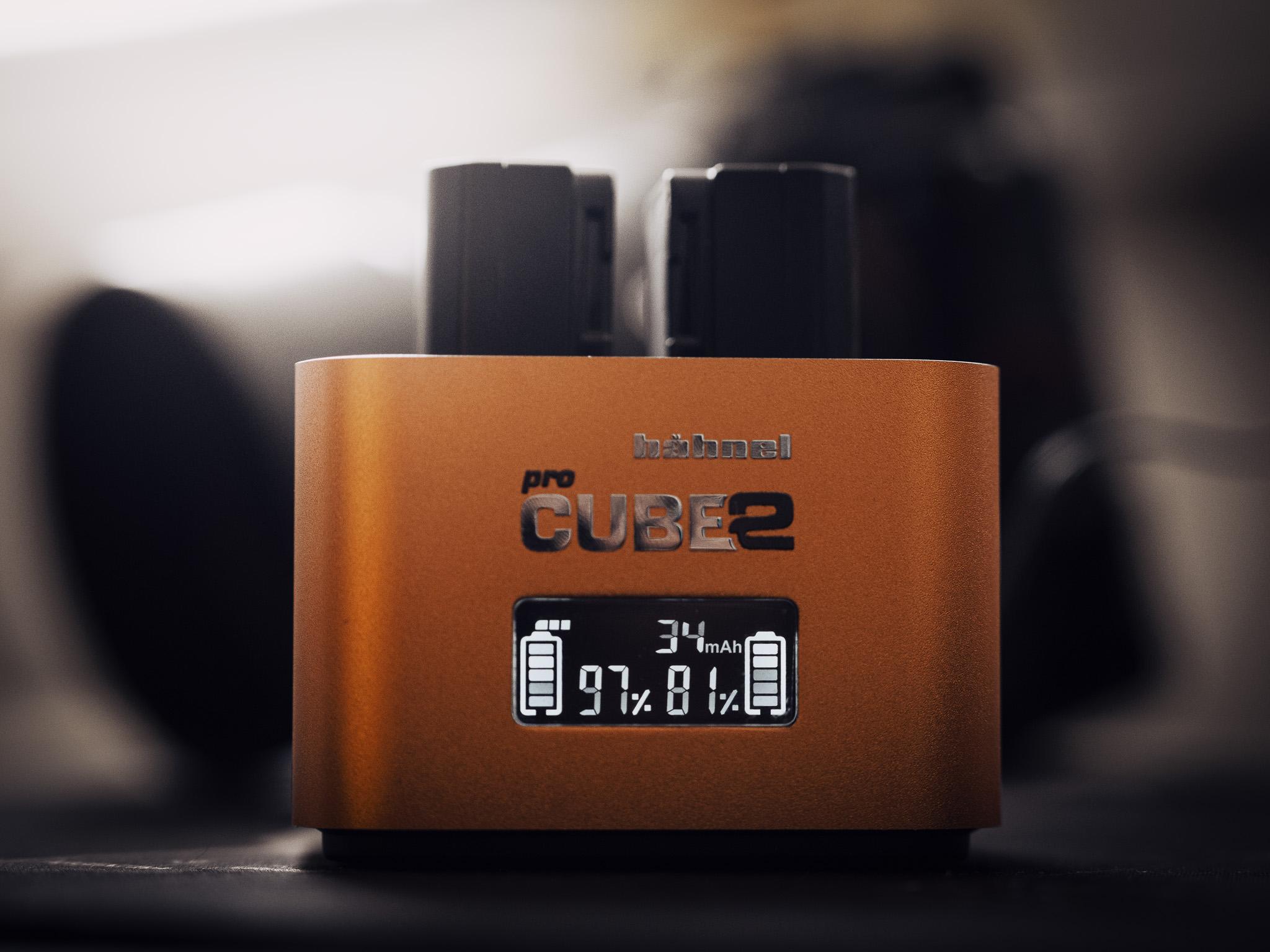 Hahnel proCUBE2 a jeho monochromatický OLED