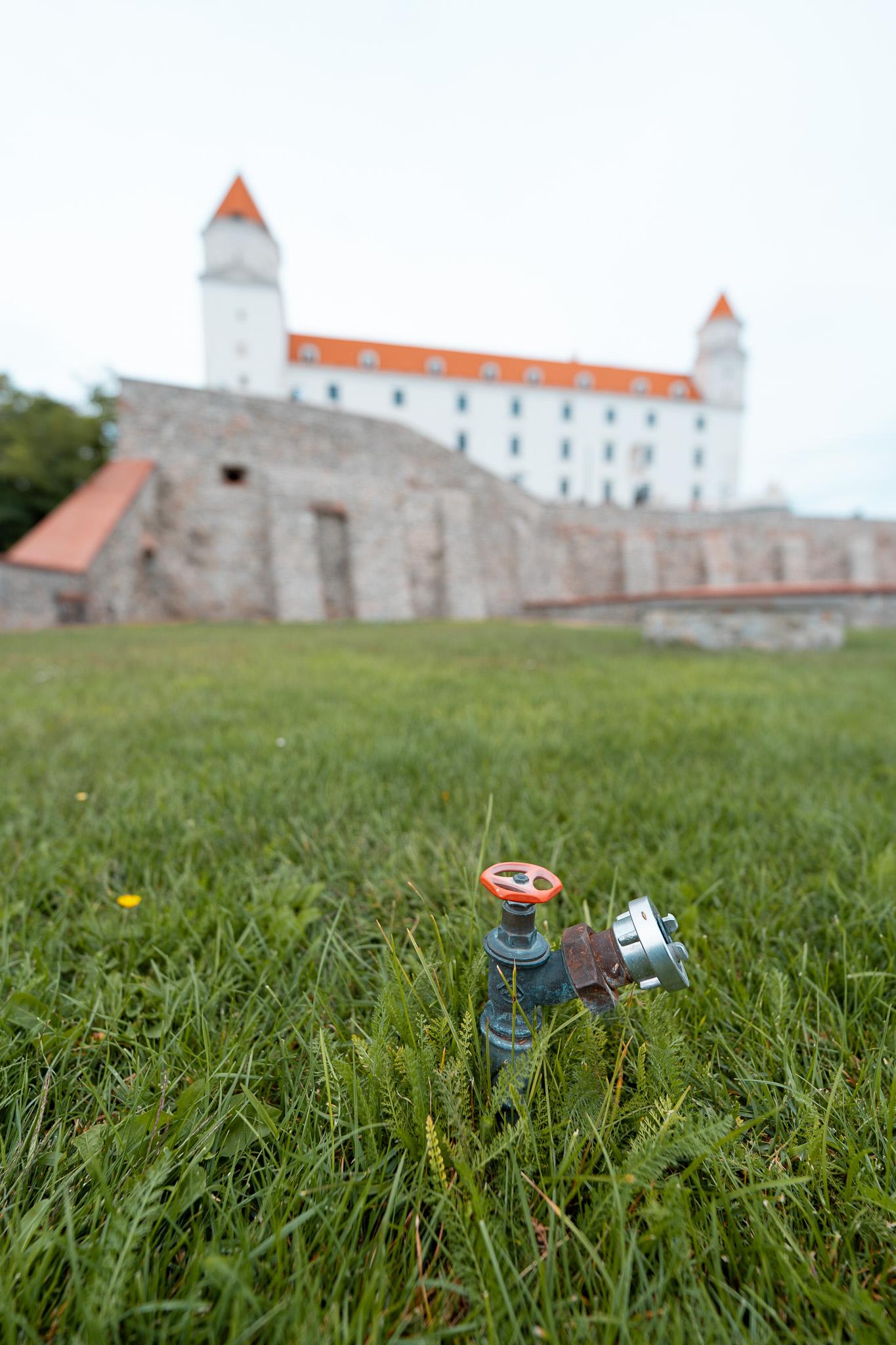 Okolí Bratislavského hradu