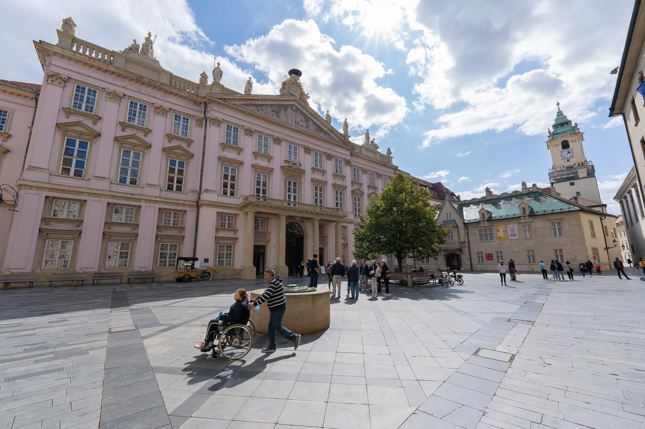 Náměstí v Bratislavě
