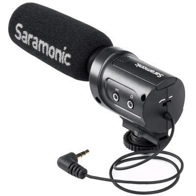 Saramonic SR-M3 - mikrofon pro CSC a DSLR