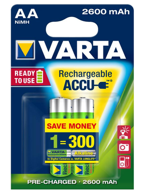 Varta Ready To Use AA 2600mAh 2ks