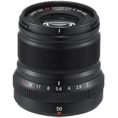 Fujifilm XF 50mm f/2 WR černý