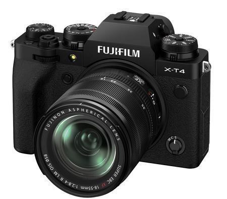 Fujifilm X-T4 černý + XF 18-55mm f/2.8-4