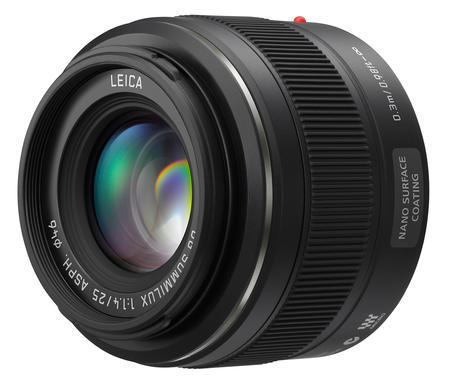 Panasonic Leica DG Summilux 25mm f/1.4 ASPH černý